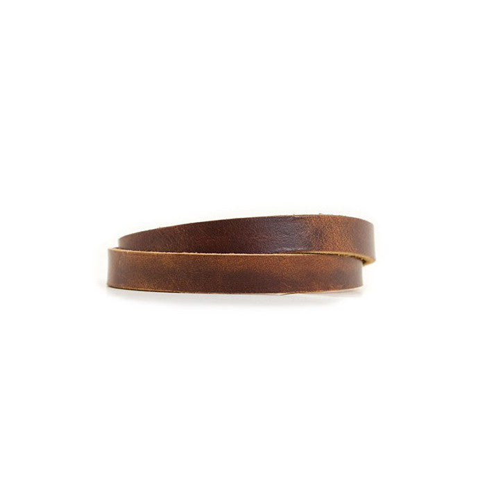Highway Leather Wristband