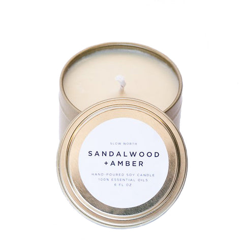 Slow North Travel Tin Candle
