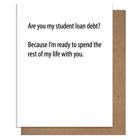 Loan Debt Card