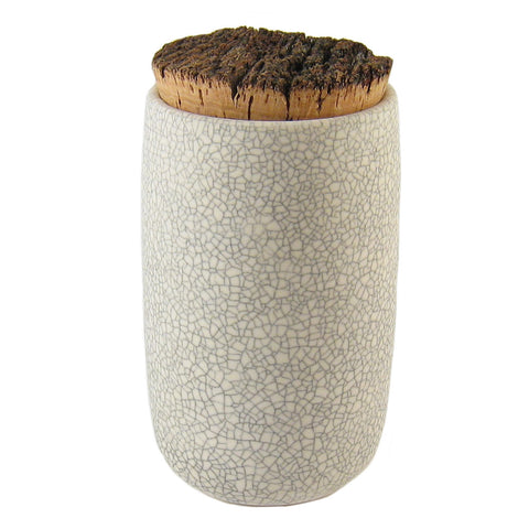 Crackle Grain Jar