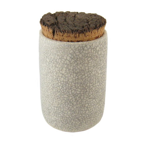 Crackle Tea Jar