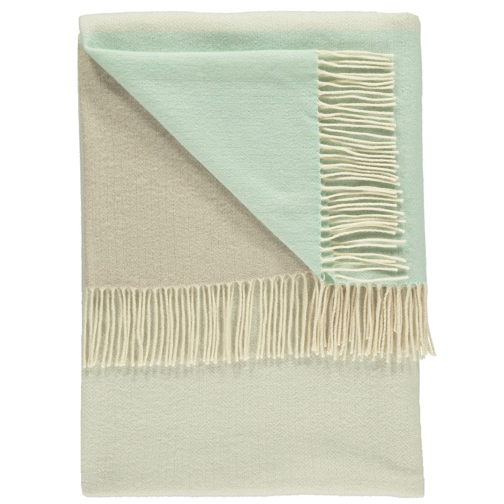 Bradley Light Aqua Throw