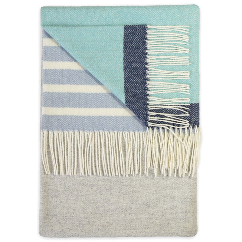 Barncoose Pearl Grey Throw