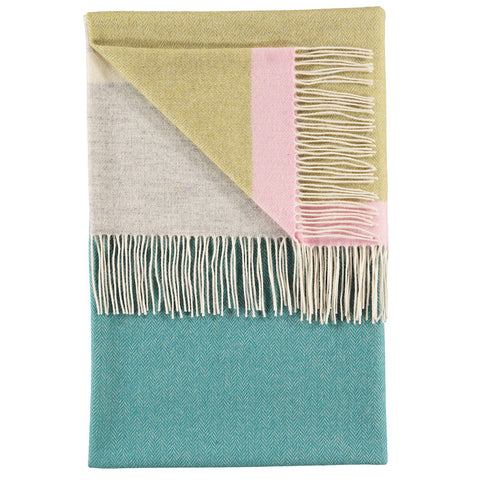 Eloise Teal Throw