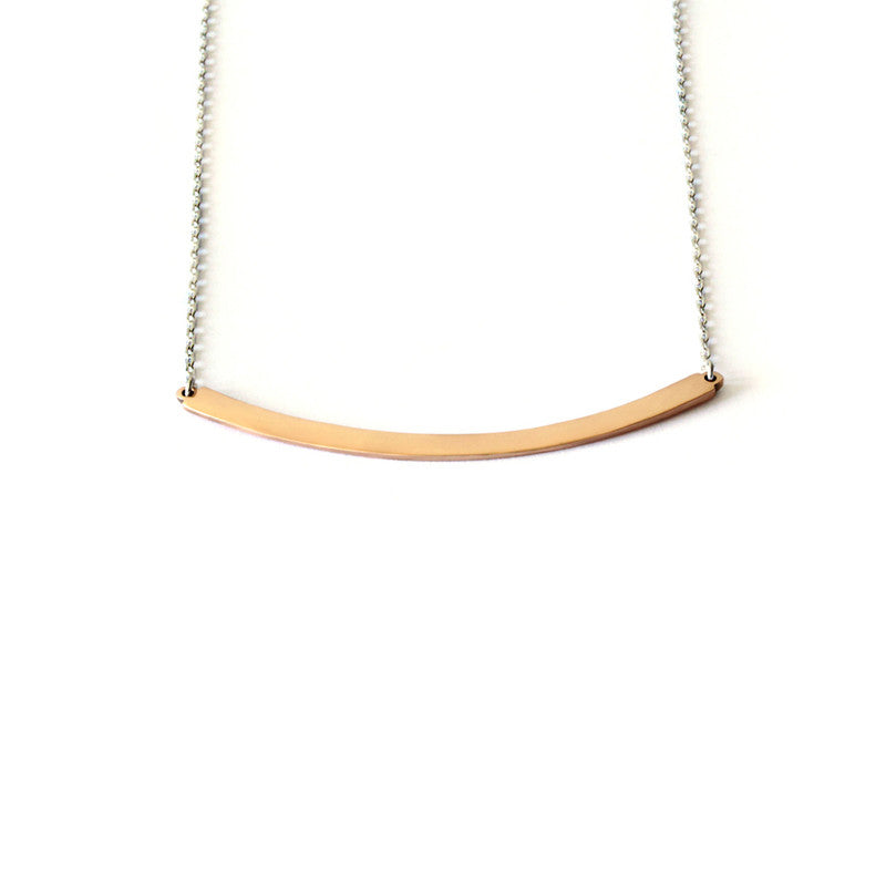 Medium Arc Necklace