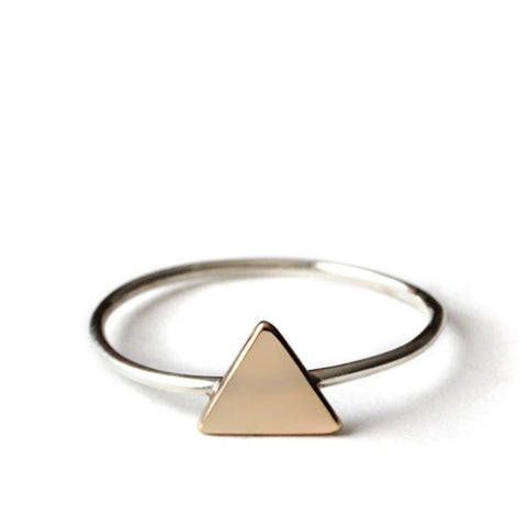 CLEARANCE - Triangle Ring