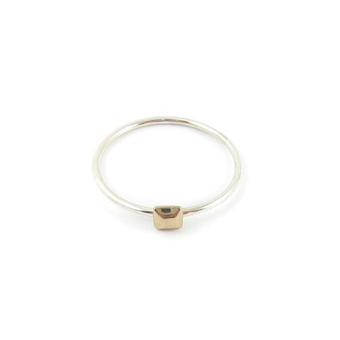 CLEARANCE - Square Faceted Ring