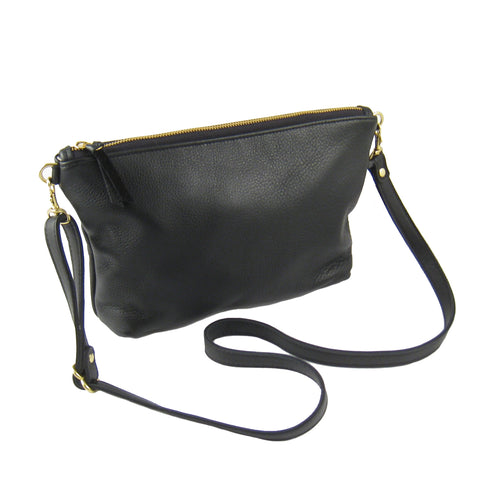 Mini Leather Hobo Bag