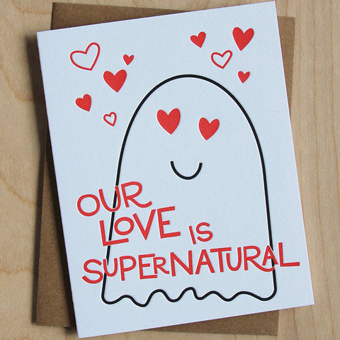 Supernatural Love Card