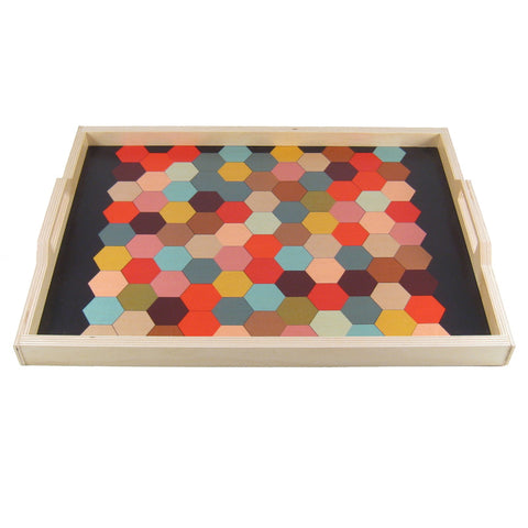 Honeycomb Print Tray