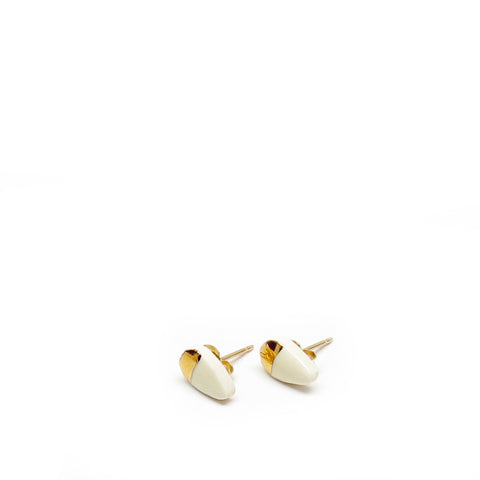 Tiny Petal Stud Earrings