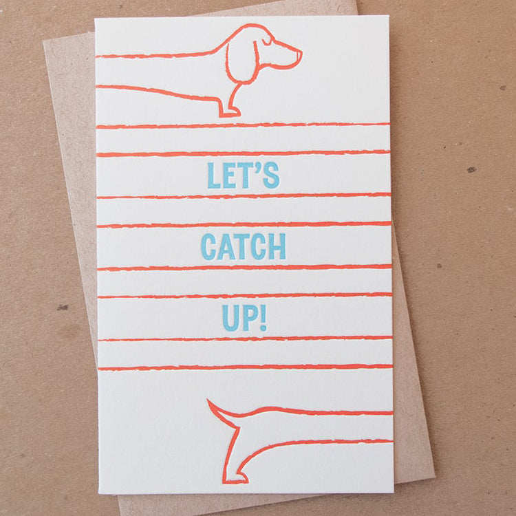 Catch Up Doxie Card