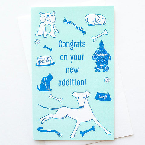 Congrats New Dog Card