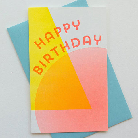 Solar Birthday Card