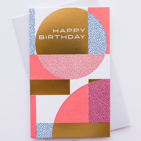 Sphere Birthday Card