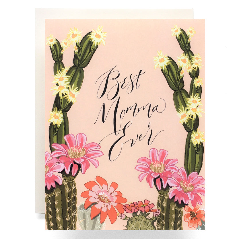 Cactus Bloom Mother's Day Card