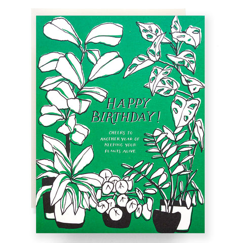Green Thumb Birthday Card