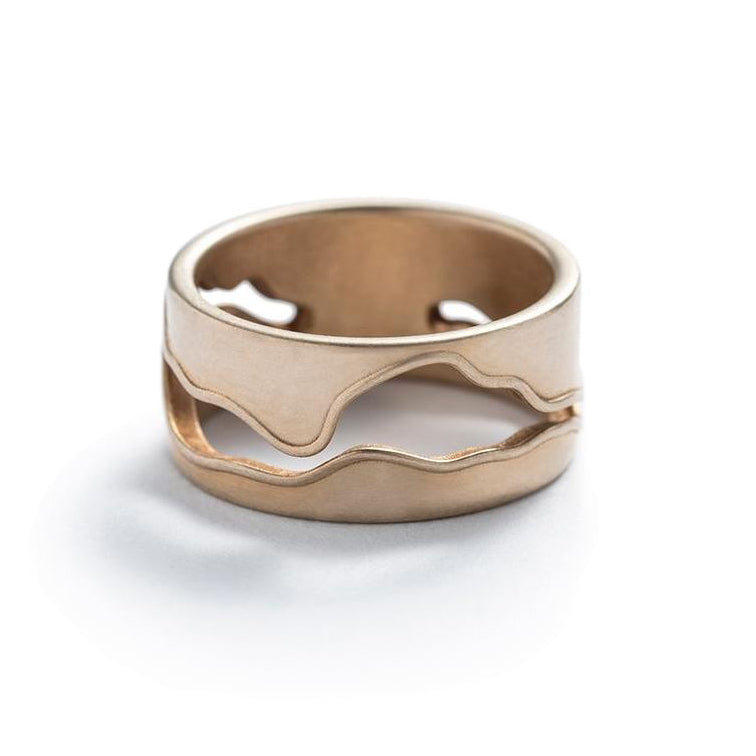 Bronze Willamette Ring