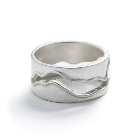 CLEARANCE - Sterling Silver Willamette Ring