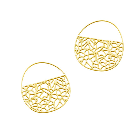 Pattern No. 1 Tiny Hoop Earrings