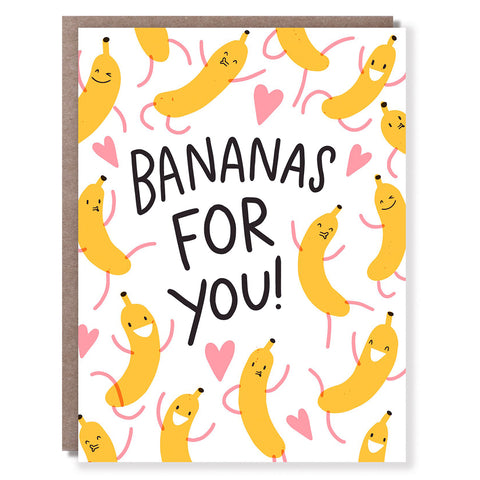 Bananas For You Card