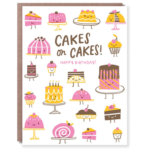Cakes On Cakes Card