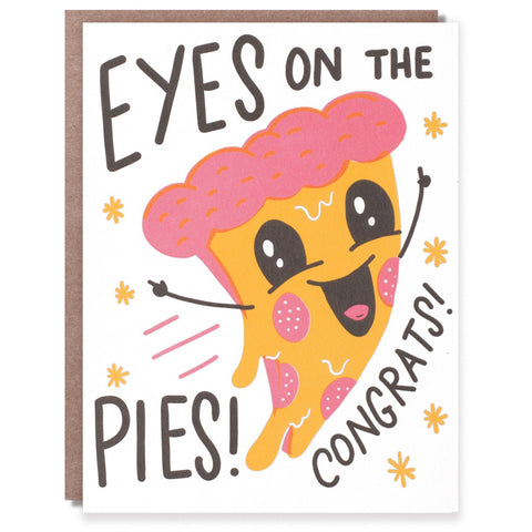 Eyes on the Pies Card