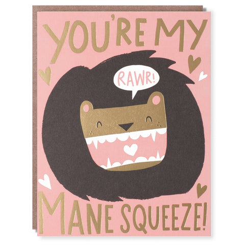 Mane Squeeze Card