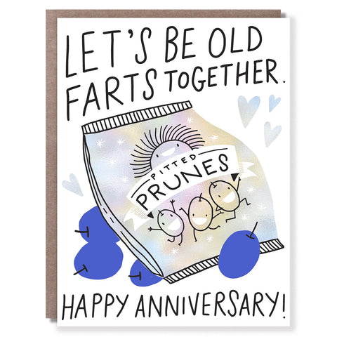 Old Farts Anniversary Card
