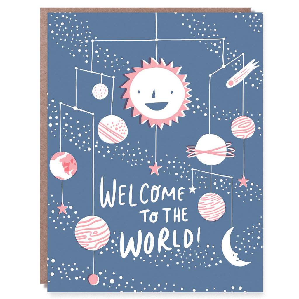 Welcome to the World Card