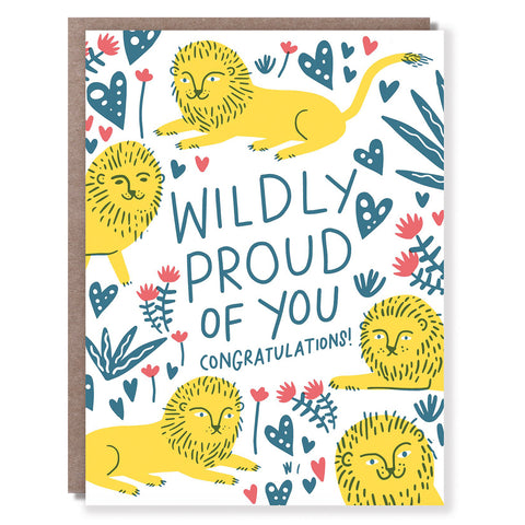 Wildly Proud Card