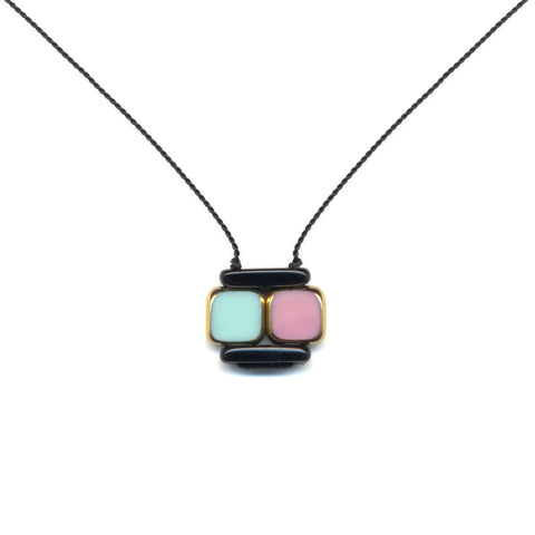 Square Layer Necklace