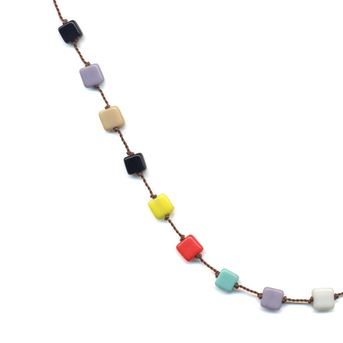 Multi Squares Necklace