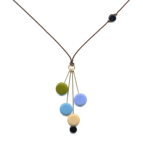 Dots and Pins Necklace