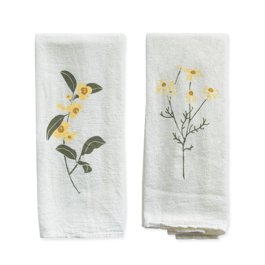 Tea & Chamomile Napkin Set