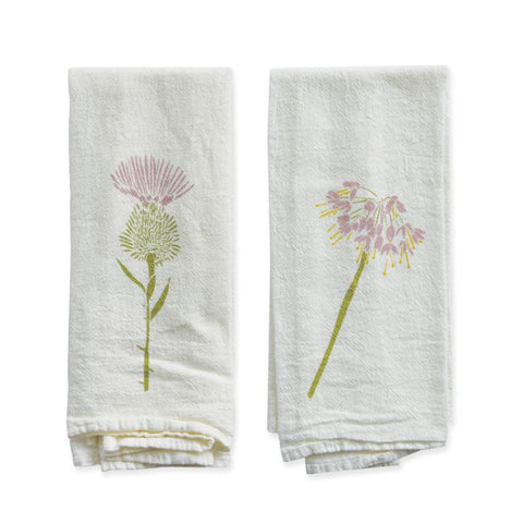 Thistle  & Wild Onion Napkin Set
