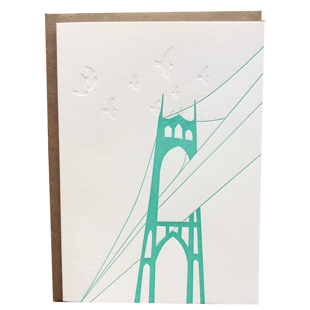 St. Johns Bridge Card
