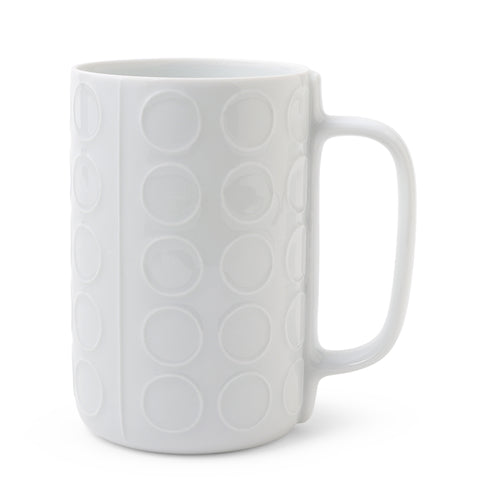 Porcelain Circle Relief Mug