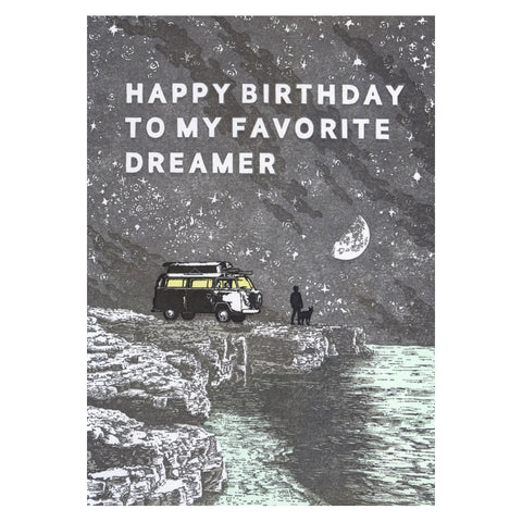 Favorite Dreamer Birthday Card