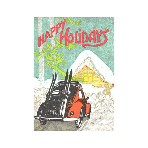 CLEARANCE - Happy Holidays VW Card