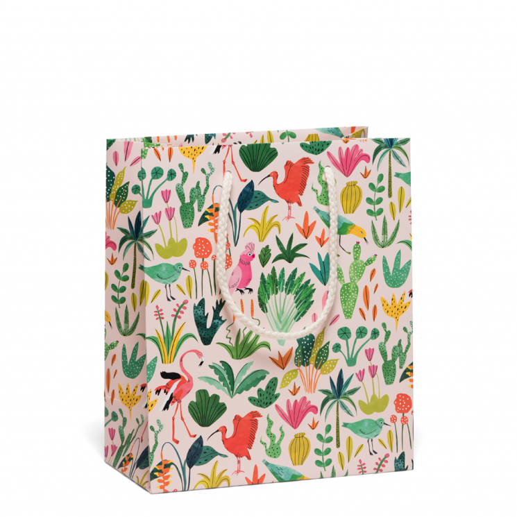 Colorful Birds Gift Bag