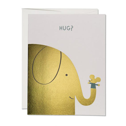 Elephant Hugs Card