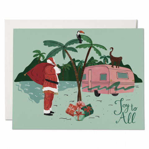 Santa Camper Holiday Box Set
