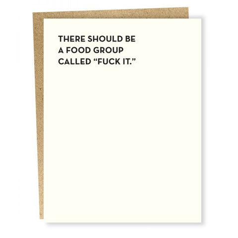 Food Group Card
