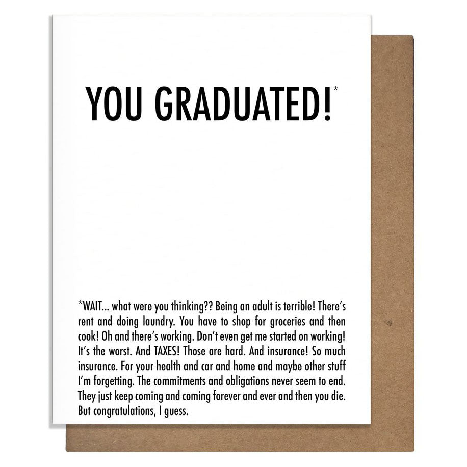 Graduated Why Card