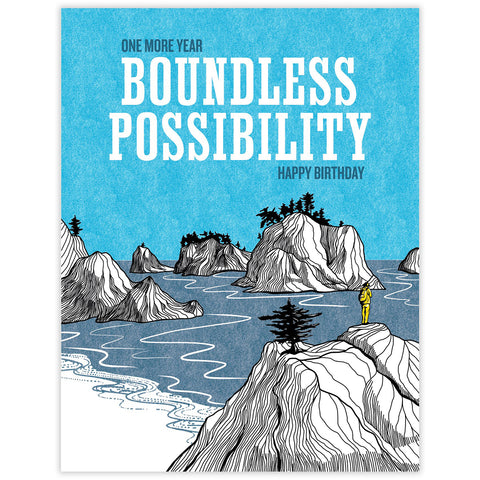 Boundless Possibility Birthday Card