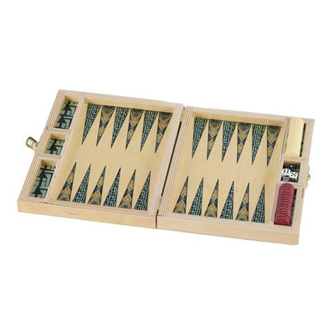 Rana Birch Backgammon Set