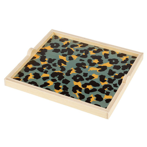 CLEARANCE - Cheetah Square Tray