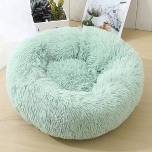 anxiety cat bed green color