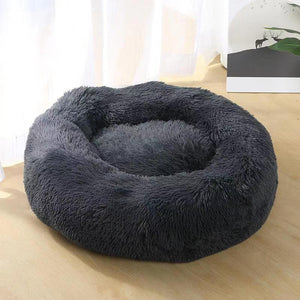 anxiety dog bed black color